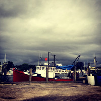 Storm Clouds at the Town Dock