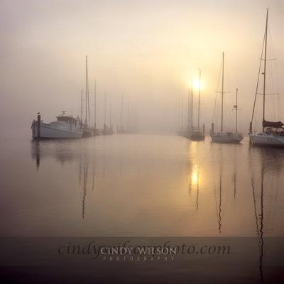 Channel Fog, Wickford, RI