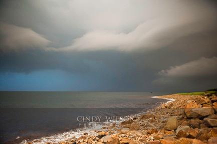 Passing Storm, Block Island