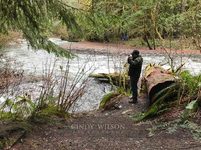 Photographing the Elwah River, Washington
