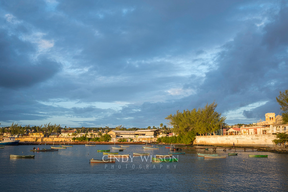 Morning Light on the Waterfront, Gibara