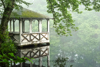 Gazebo in the Mist
