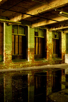 Interior reflections, Mapleville Mill