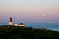 Point Judith Moonrise