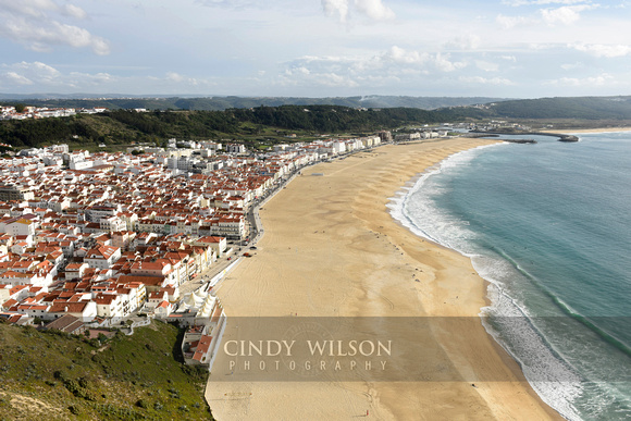 Beach at Nazare, Portugal