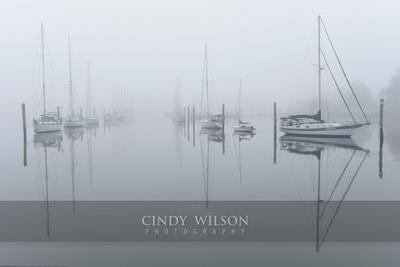 Fogged In Channel, Wickford, RI