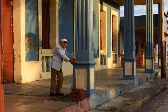 Saying goodbye to Frank, Gibara, Cuba