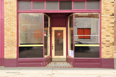 Empty Storefront, Valley Falls