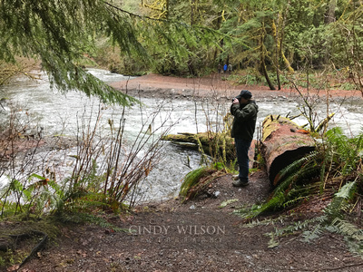 Photographing the Elwah River, Washington