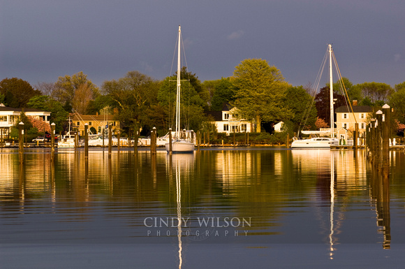 Spring Reflections, Poplar Point, Wickford, RI