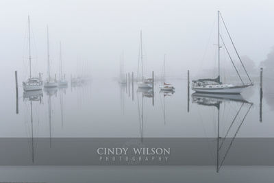 Fogged In Channel, Wickford, RI