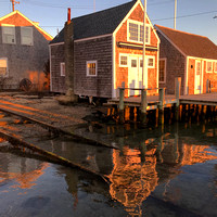 Boathouse Reflections, Edgartown MA