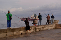 Fishing at Dawn, Havana