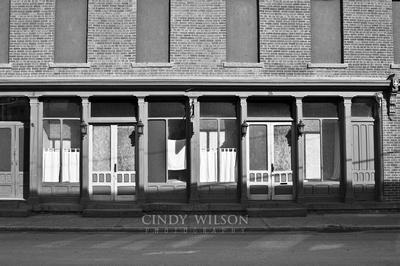 Empty Facade, Coxsackie NY