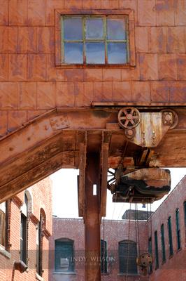 Overhead Passage, Taft Pierce Mill, Woonsocket
